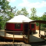 Beautiful Blue Ride Yurt