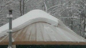 Yurt Snow Melt